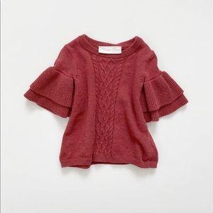 Bonnie Baby Statement Sleeve Sweater 0-3 Months